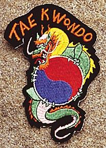 Dragon / Tae Kwon Do Patch